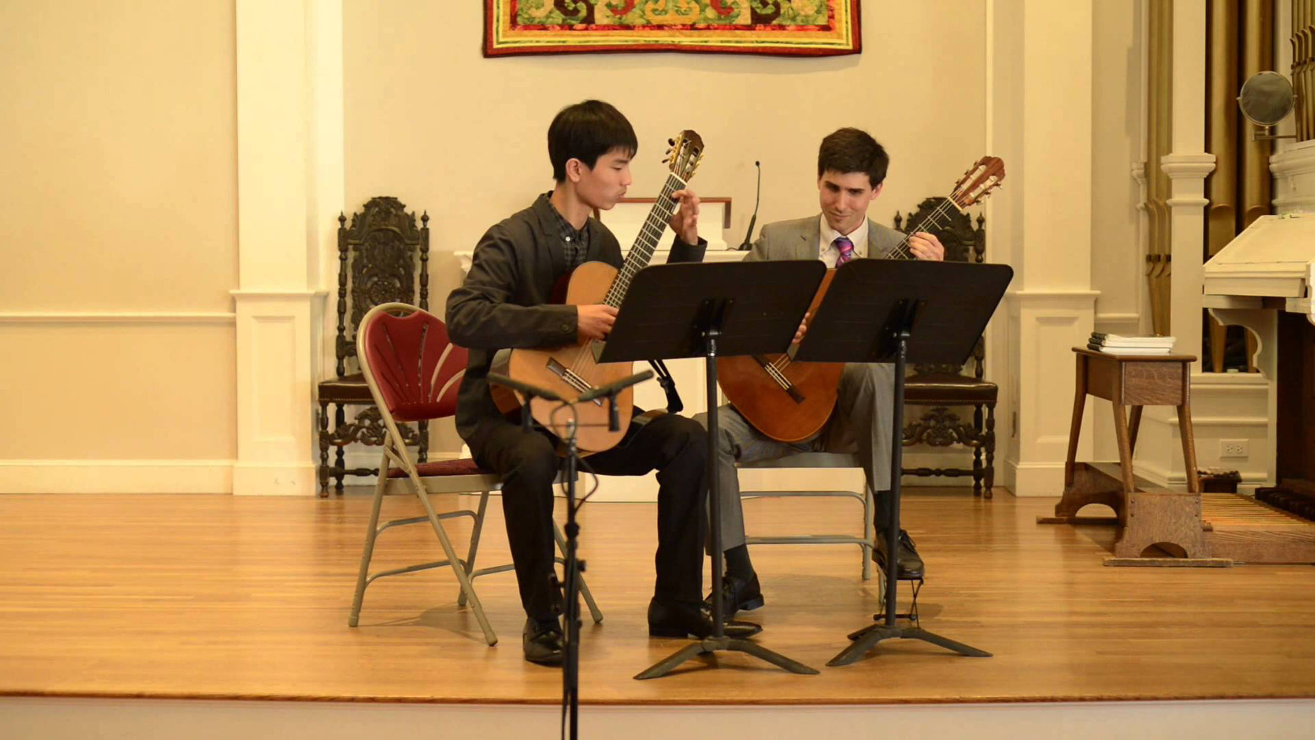 Devin and Robert Wang
